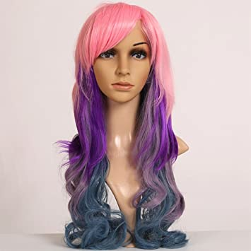 Amazon Com Wigs For Women S Cosplay Wig With Party Costume Hair