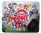 12x10 inch Pony Collection Cute Girl Cartoon Mouse Mat Mouse Pad