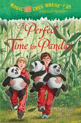A Perfect Time for Pandas - Book #48 of the Magic Tree House