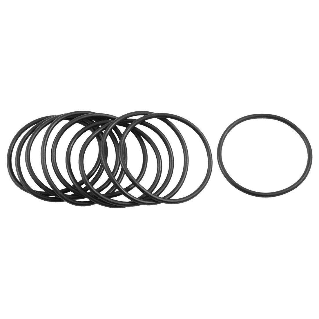 50x 7 x 1 mm Nitrile 90 o/'ring