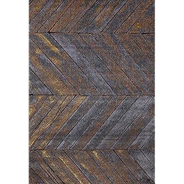 6057 Gray Trellis 7'10x10'6 Area Rug Carpet Large New