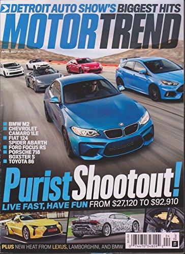 Motor Trend Magazine April 2017 - Motor Trend Magazine Shopping Results