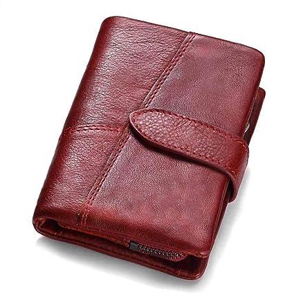 Amazon.com: ZhiGe Womens Wallet Fashion Mini Zipper Buckle ...