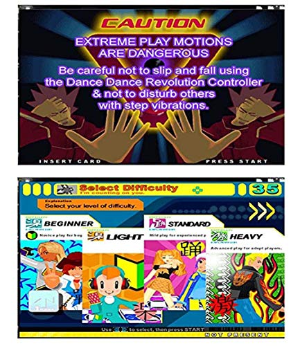 Puronic Non-Slip Dance Mats Rhythm and Beat Game Dancing Step Pads USB Lose Weight Pads Dancer Blanket with USB Entertainment for PC Laptop (Pattern 2, 8 mm Thick) by Puronic (Image #3)