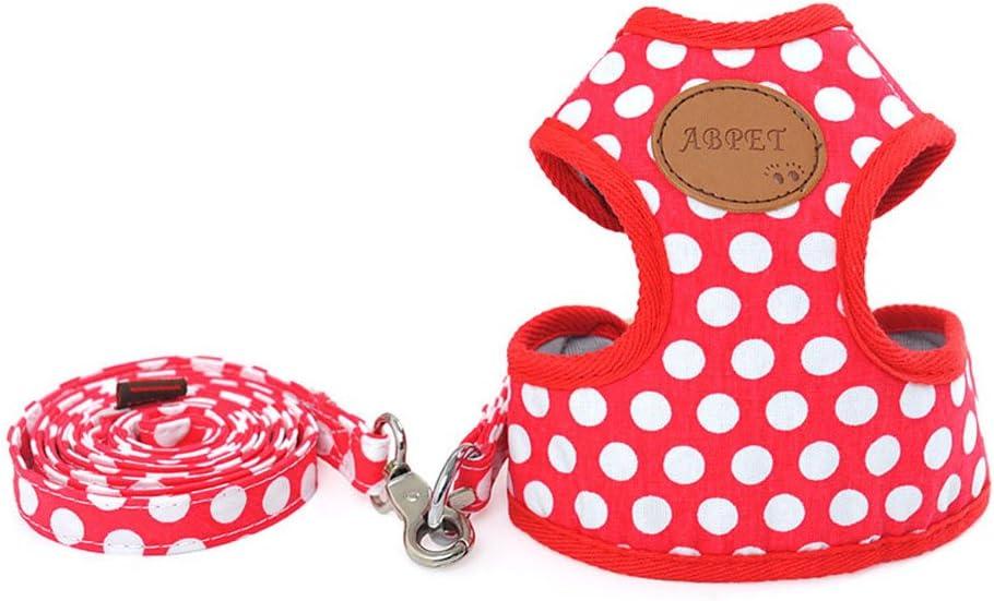 ZoonPark/® Harnais de marche r/églable pour chien ou chiot Taille S et M