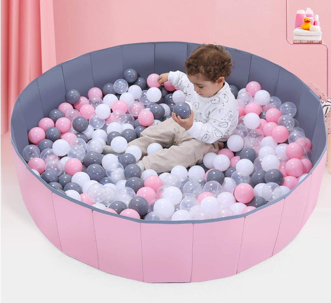 Foldable /& Portable Large Fabric Ball pits for Kids and Babies AGIMOLI Ball Pit for Toddlers Waterproof /& Durable Indoor Outdoor use Ball Pit playpen Blue, 4 Foot