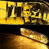 Yellow Amber Lens OE Front Bumper Fog Light