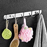 Edge to clothes hook 304 Stainless Steel Hooks Bathroom Hardware Pendant Hook Hanging Hook Towel Hook