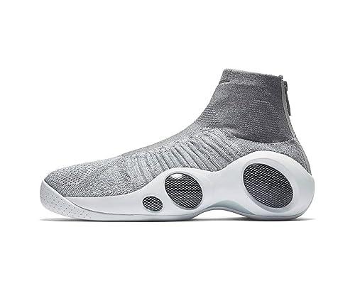 Cósmico autobiografía Vaciar la basura  Nike Flight Bonafide - Jason Kidd (11, Grey/White): Amazon.in: Shoes &  Handbags