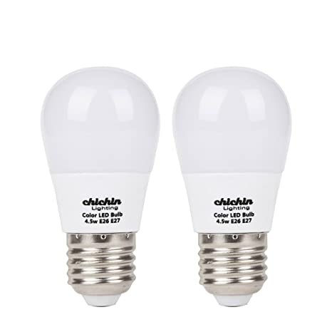 Lampadine Led Camper.Chichinlighting 2 Pack Low Voltage Led Light Bulbs 12 Volt 5 Watt E26 E27 Base Cool White 6000k Ac Dc Light Bulbs Solar Off Grid Rv Marine