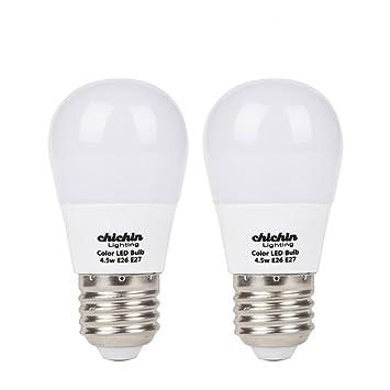 ChiChinLighting 2-Pack bombillas de bajo voltaje 12 V LED E26 bombillas LED bombilla de