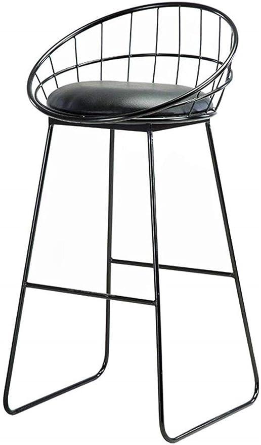 Sedie Metallo E Cuoio.Bar Stool Sgabelli Tappezzati Pranza Le Sedie Da Cucina Pub Gambe