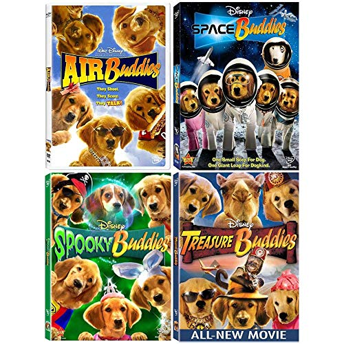 Air Buddies: Spin-Off Disney Movie Series - 4 Film DVD Collection -