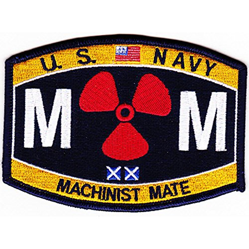 Machinists Mate - Engineering Rating Engineer Machinist Mate Patch