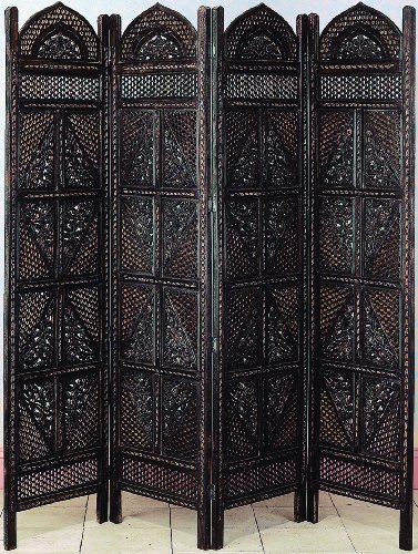 - Deco 79 Wood 4 Panel Screen Ultimate in Screen Category