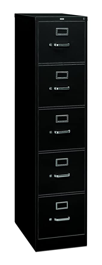 Great HON 5 Drawer Filing Cabinet   310 Series Full Suspension Legal File Cabinet,  26