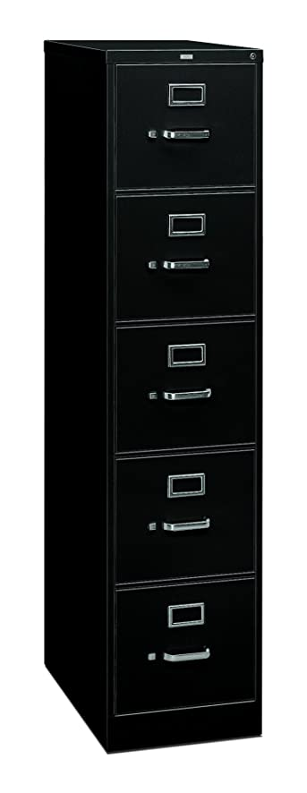 Amazon.com: HON 5 Drawer Filing Cabinet - 310 Series Full ...