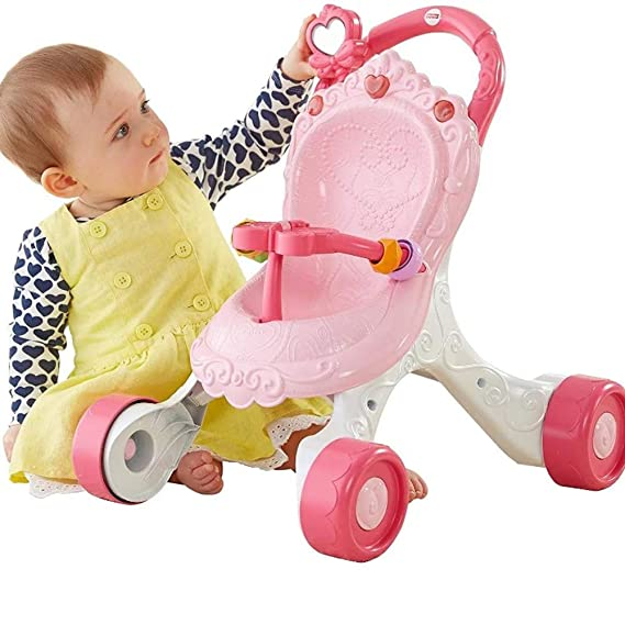 Baby walker Andador, Trolley, ciclomotor, Princesa Rosa.: Amazon ...