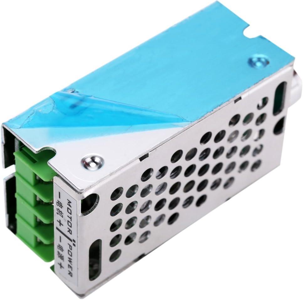 KKmoon DC R/églable Brosse Moteur Variateur PWM R/égulateur 12V//24V//36V//60V 8 A 400W avec Interrupteur de Commande