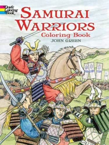 Samurai Warriors (Dover History Coloring Book)