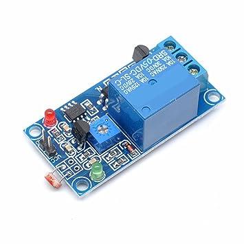 Amazon.com: willwin 5 V luz PHOTOSWITCH Sensor Interruptor ...