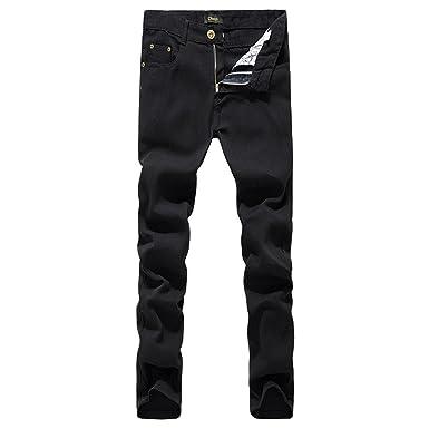 b97920d06ffa7d Hot Sale Biker Jeans Männer lässig Schwarz Denim Straight Design Hose billige  Kleidung China Marke Kleidung