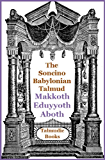 Talmud Makkoth, Eduyyoth and Aboth (Soncino Babylonian Talmud Book 38)