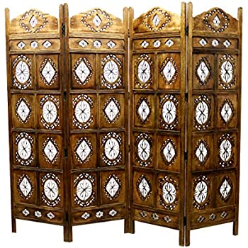 Amazoncom Independence Day Celebration Antique Brown Wooden Screen