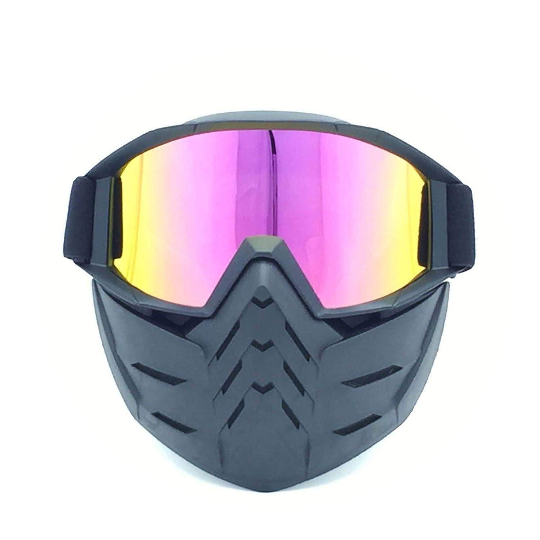 Lafeil Sportbrille Retro Damen Herren Retro Maskenbrillen Retro Vollgesichtsbrillen Motocross Brille Wind Und Staub