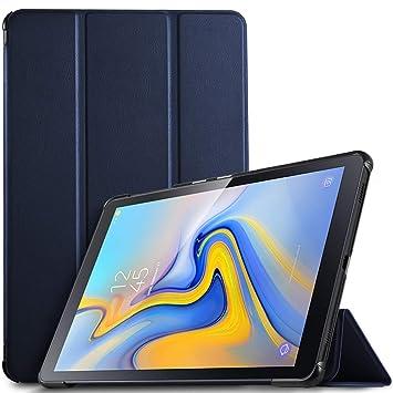 IVSO Funda Carcasa para Samsung Galaxy Tab A 10.5 SM-T590/T595, Slim PU Protectora Carcasa con Auto Wake/Sleep Función para Samsung Galaxy Tab A ...