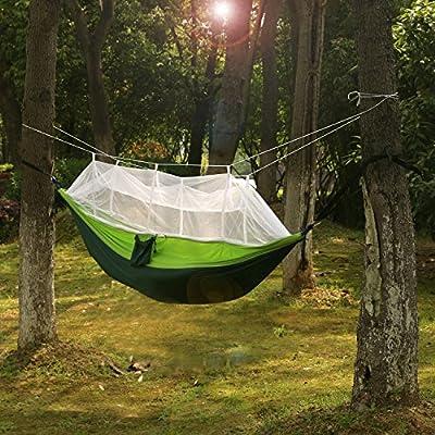 Carryon Hammock ,Mosquito Net Hammock,Nylon Fabric Travel Portable Camping Hammock