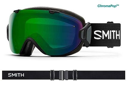 cac2e3e875d2c Smith Optics Womens I OS Snowmobile Goggles Black   ChromaPop Everyday  Green Mirror