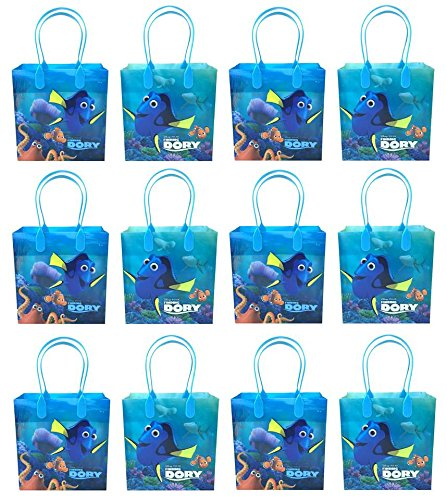 Disney Pixar Finding Dory with Nemo 12 Pcs Goodie Bags Party Favor Bags Gift Bags Birthday Bags]()