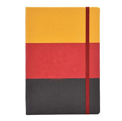 Amazon com : Hardcover Thick Notebook, Simple and Fresh, 9 27 inches