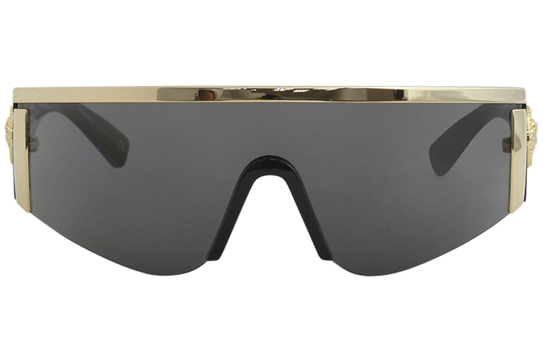 Versace Womens Shield Sunglasses