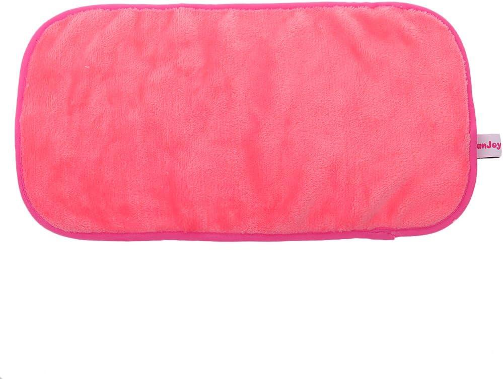 Microfibra Facial Maquillaje Removedor De Limpieza De Tela Toallas Toallita-rojo De La Rosa: Amazon.es: Hogar