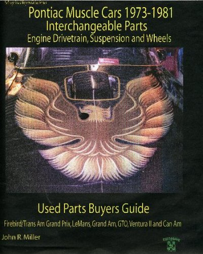 1974 1975 1976 1977 Car - Pontiac Muscle Cars 1973-1981 Interchange Parts Engine Drivetrain, Suspension and Wheels Used Parts Buyers Guide (Salvage Yard Buyers Guide)