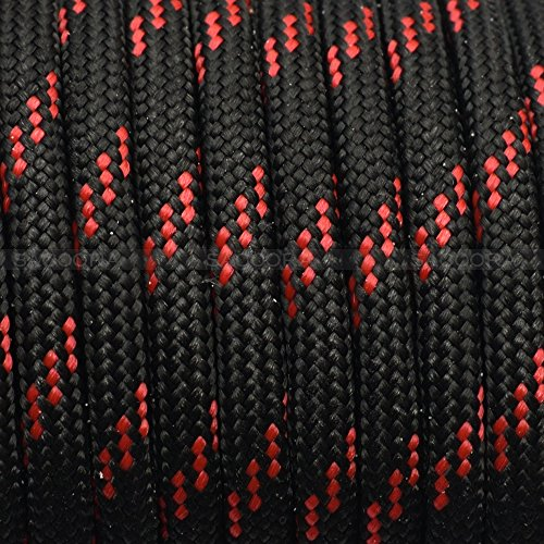 1pcs 100ft 550 Paracord Parachute Cord Lanyard Mil Spec Type III 7 Strand Core (color 111)