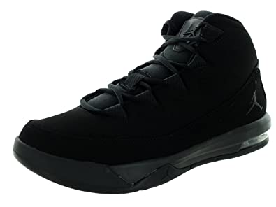 Amazon.com Nike Jordan Mens Jordan Air Deluxe Black Black Black Basketball  Shoe 8.5 Men ... 6cd4de5cb