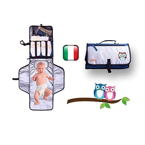 Cambiador Portátil de viaje bebé Plegable impermeable [2 A ...