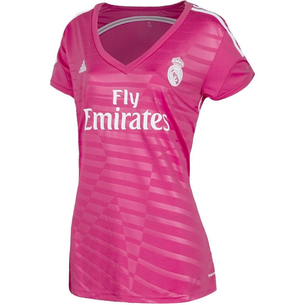 Real Madrid Pink Jersey