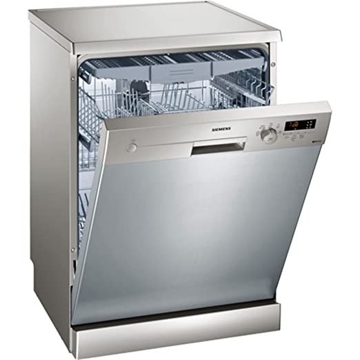 Siemens iQ100 SN215I01FE lavavajilla Independiente 14 cubiertos A++ - Lavavajillas (Independiente, Tamaño completo (60 cm), Cromo, Acero inoxidable, ...