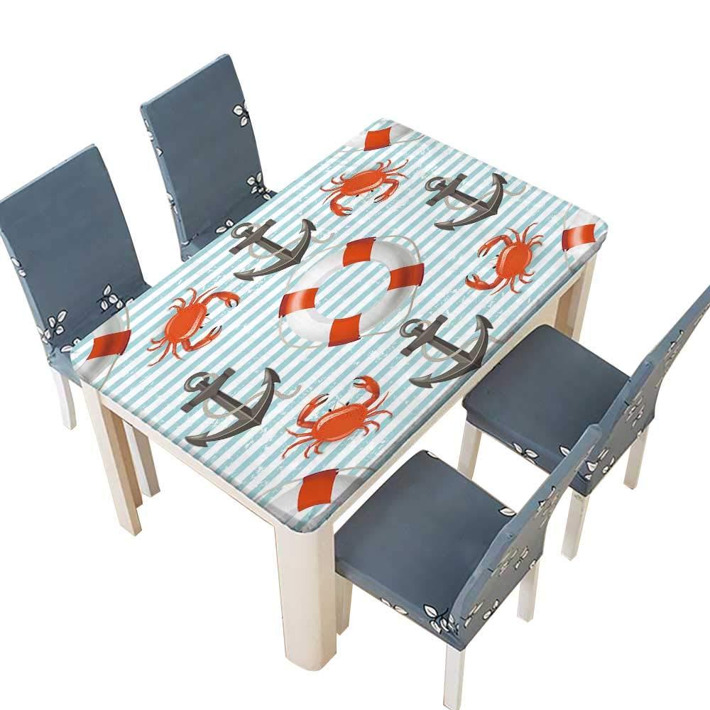 PINAFORE ポリエステル生地カバー 明るいマルチカラー BGR 花 カーテン 装飾テーブルクロス キッチン お部屋用 幅25.5×長さ65インチ(絶縁) W49