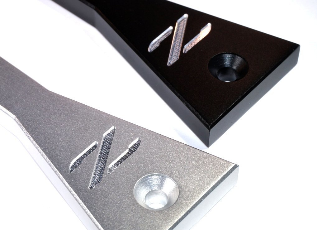 for Nissan Z32 300zx ZSPEC Billet Battery Hold Down Kit w//Hardware Black or Silver
