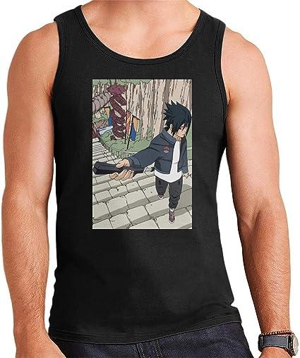Sasuke Fashion Naruto Mens Vest: Amazon.es: Ropa y accesorios