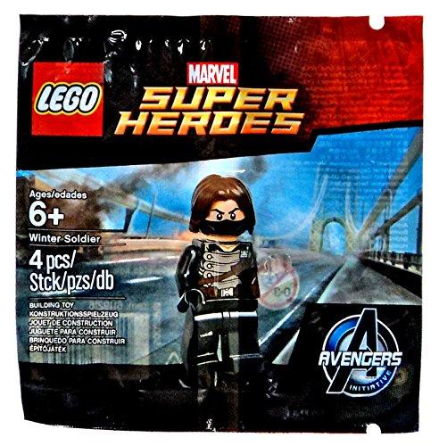 Winter Soldier Minifigure 5002943 Avengers