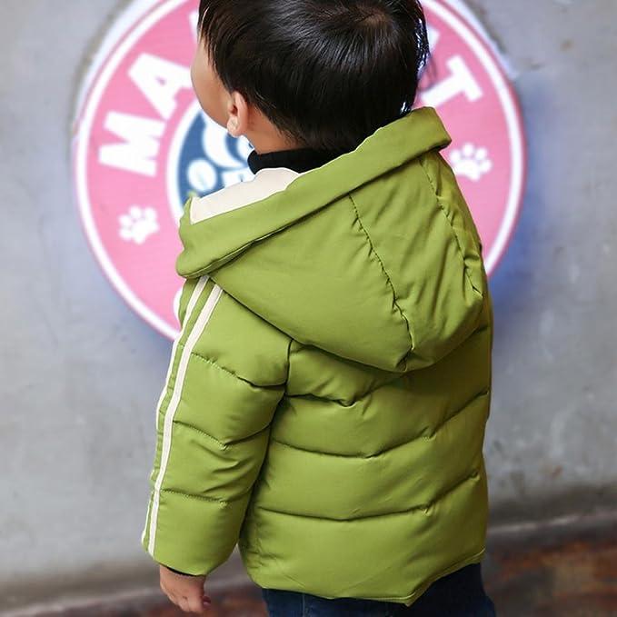 041d50771 Koly Bebé Moda Niñito Chicos Otoño Invierno Encapuchado Capa Capa Chaqueta  Grueso Calentar Cremallera Algodón Ropa Chaqueta de Invierno para Niño 2017  Nuevo ...