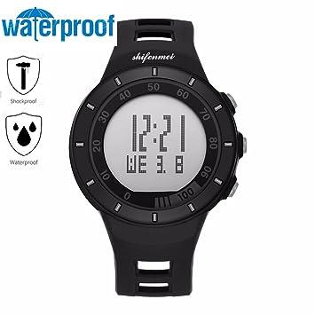 shifenmei multifunción saludable Lifestyle Reloj Deportivo electrónica reloj de pulsera impermeable antigolpes Joven Chica Teen Outdoor Sport Creative ...