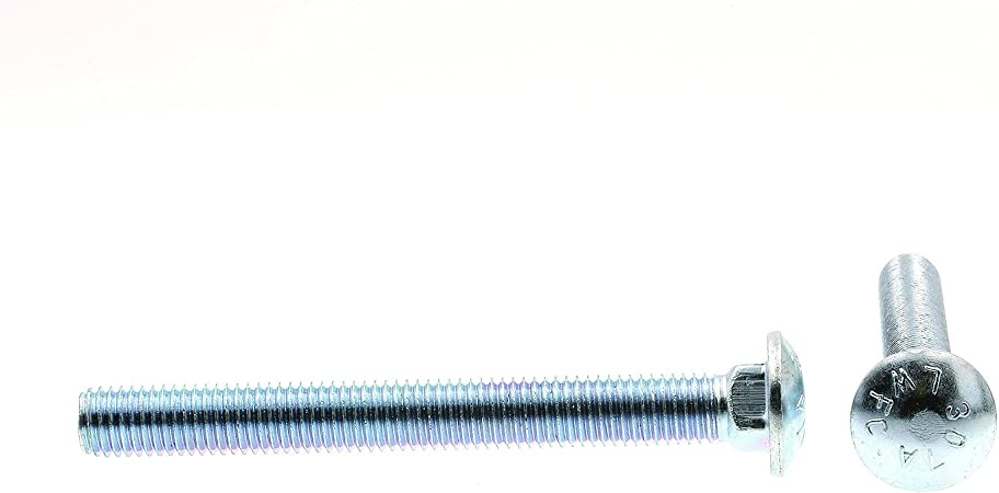 Prime-Line 9065262 Carriage Bolts A307 Grade A Zinc Plated Steel 10-Pack 5//8 in.-11 X 6 in.
