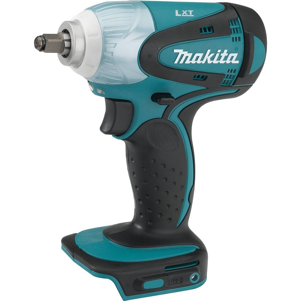 Makita XWT06Z 18V LXT Lithium-Ion Cordless Square Drive Impact Wrench, 3 8-Inch